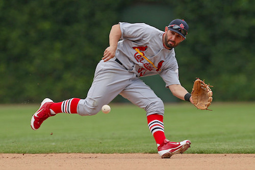9 daniel descalso cardinals - position players who pitched in 2014