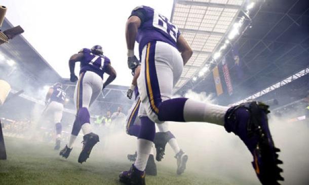 Vikings Steelers Wembley