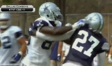 And Now the Dallas Cowboys Are Fighting at Their Training Camp (GIF)