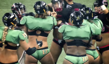 Nasty Brawl Turns LFL Game Into Mud Wrestling without the Mud (Video)