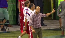 Bayern Coach Pep Guardiola Refuses to Shake Hands with Opposing Coach after MLS All-Star Friendly (Video)