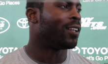 Michael Vick Dodges Question About Jets Starting QB by Patting Reporter on the Ass (Video)