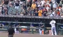 Austin Jackson Gets Pulled From the Field, Mid-Game, Because He Was Traded (Video)