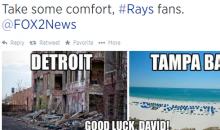 Tampa TV Station Tweets Unfunny Detroit Joke after David Price Trade (Tweets)