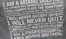 Miami Dolphins Create Their Version of the 'Soldier's Creed' to Combat Bullying (Tweet)