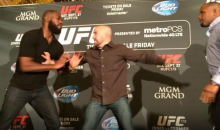 Prelude To Cormier-Jones UFC Fight Ends in Actual Fight During Press Confrence (Video)