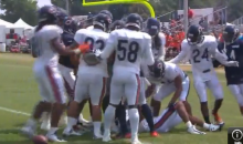 Martellus Bennett and Kyle Fuller Come to Blows During Bears Training Camp (Video)
