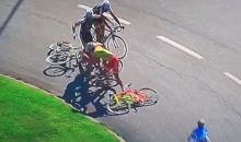 Just Because Cyclists Wear Spandex Doesn't Mean They Can't Administer a Beatdown (Video)