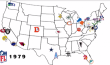 Watch The NFL Team Logos Evolve Over the Years in This Clip (Video)