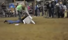 A Game of Musical Chairs at a Rodeo Gets Predictably Awesome and Violent (Video and GIF)