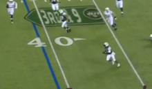 Michael Vick Shows Off His Speed With 15-Yard Scramble During First Game With Jets (Video)