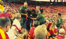 Chiefs Fan Gets Tased by Security, Heckling Crowd Adds Insult to Injury (Video)