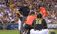 Marlins' Dan Jennings Takes a 101-MPH Line Drive to the Head (Video)