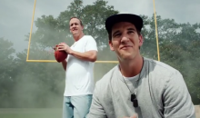 Eli and Peyton Manning Back at It for Another Amazing DirecTV Music Video Commerical