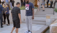 Landon Donovan Wallows in Denial with James Harden in this Hilarious Foot Locker Commercial (Video)