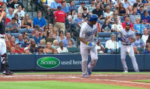 Yasiel Puig Nearly Hits Matt Kemp with an Angry Bat Flip (Video)