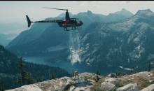 Paul Bissonnette Used a Helicopter and a Glacier for an Epic ALS Ice Bucket Challenge (Video)