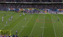 NFL Ref Shows His Arm Strength by Chucking Flag 31 Yards Downfield (GIF)