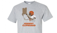 Johnny Manziel Haters Can Now Buy 'Johnny Clipboard' T-Shirts Online