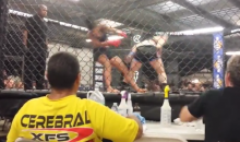 Don't Blink: Here's a Five-Second Female MMA KO via Spinning Hook Kick (Video)