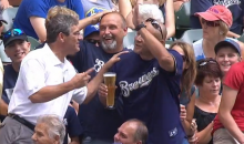 When a Foul Ball Destroyed a Fan's Beer, the Announcers Bought Him a New One (Video)