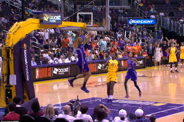 britney griner first dunk in wnba playoff history
