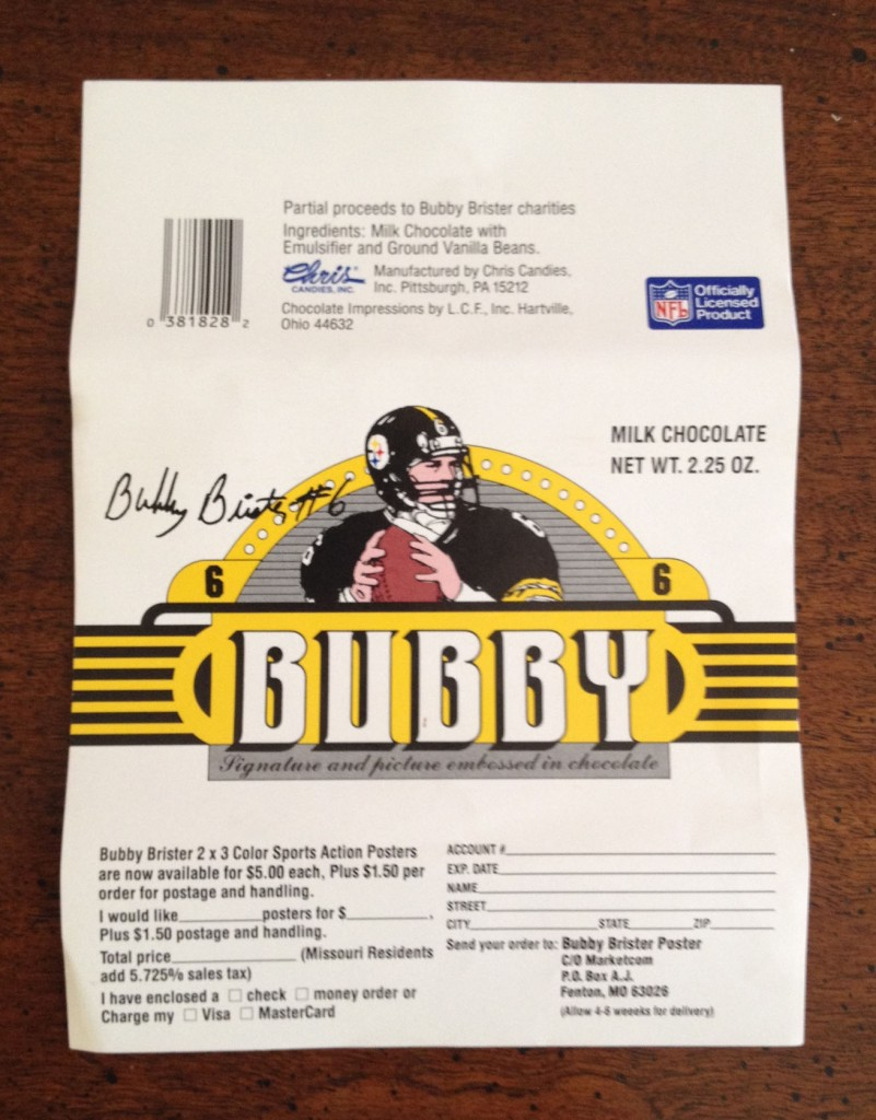 bubby candy bar (bubby brister) - athletes with their own foods