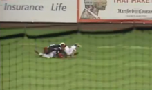 Top Twins Prospect Byron Buxton Knocked Out Cold After Colliding with Teammate in Right Field (Video)