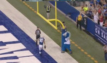 Coby Fleener's Post-Touchdown Pump Fake Fools Ref (Video)