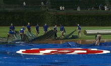The Chicago Cubs Grounds Crew: They Fought the Tarp and the Tarp Won (Videos)