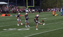 Danny Amendola Entertains Patriots Fans with Impressive Juggling and Catching Skills (Video)