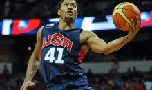 Derrick Rose Returns to Chicago with Team USA, Gets Huge Ovation, Doesn't Break (Videos)