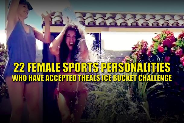 female athletes als ice bucket challenge (female sports personalities als ice bucket challenge) 2