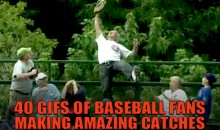 40 GIFs of Baseball Fans Making Amazing Catches