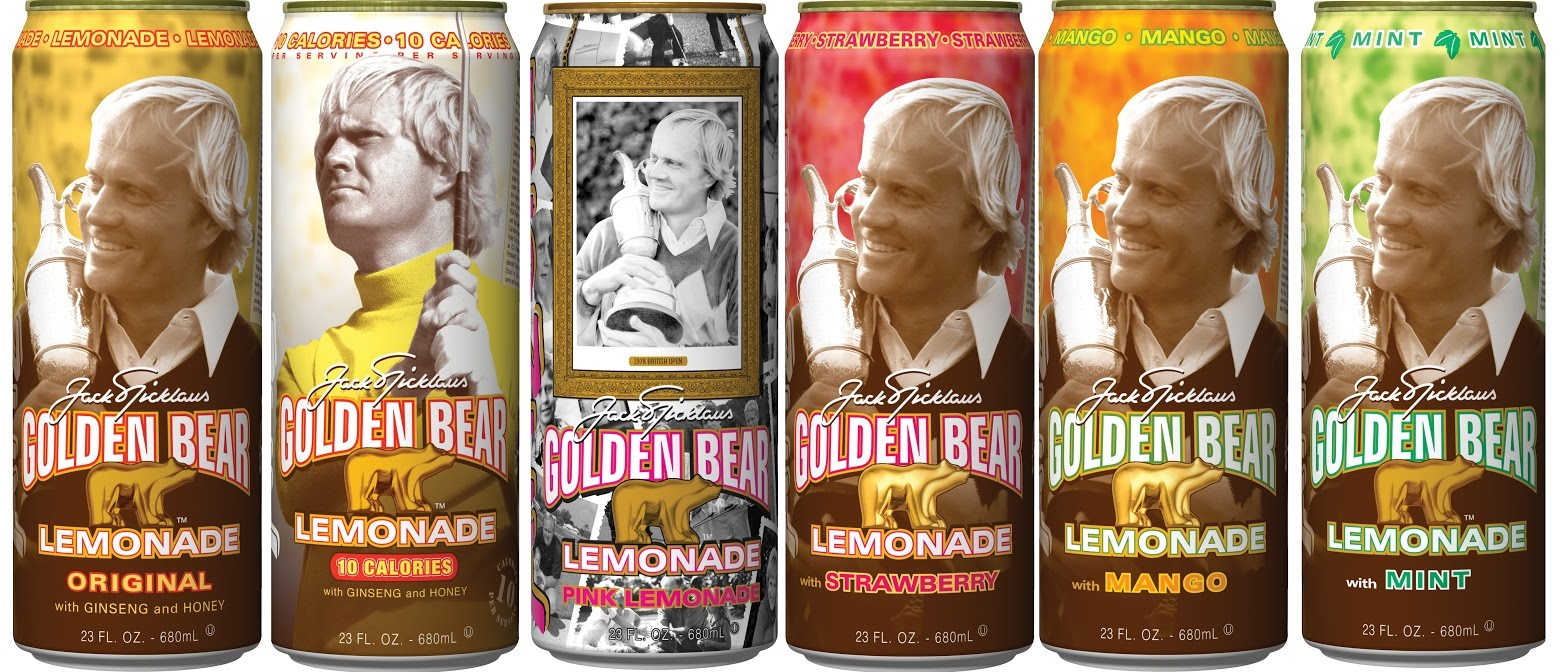 golden bear lemonade (jack nicklaus arizona lemonade) - athletes with their own foods