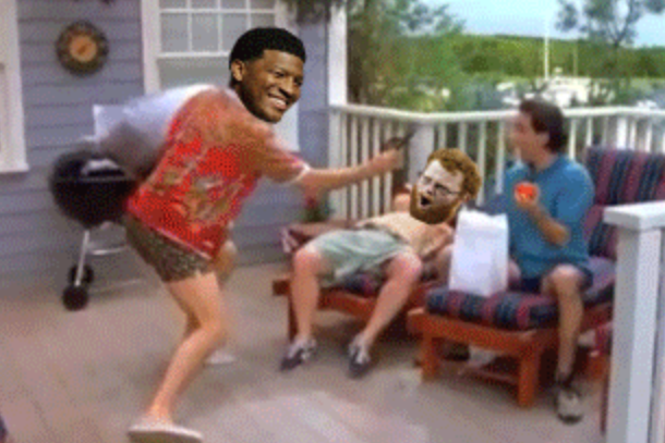 jameis winston red lightning seinfeld lobster gif