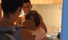 Jeremy Lin Gives His Mom a Pie in the Face for Her Birthday (Video)