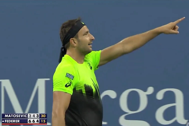 marinko matosevic says i want to be like mike - michael jordan at 2014 us open