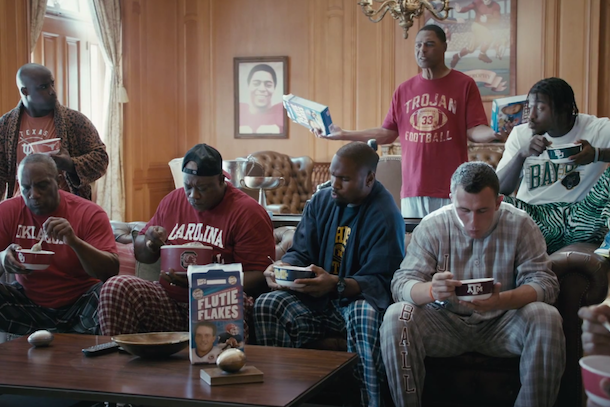 nissan heisman house commercials flutie flakes