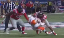 Ole Miss Defenders Had Fun Obliterating Boise State Receivers Last Night (GIFs)