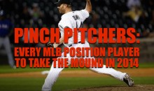 Pinch Pitchers: Every MLB Position Player to Take the Mound in 2014