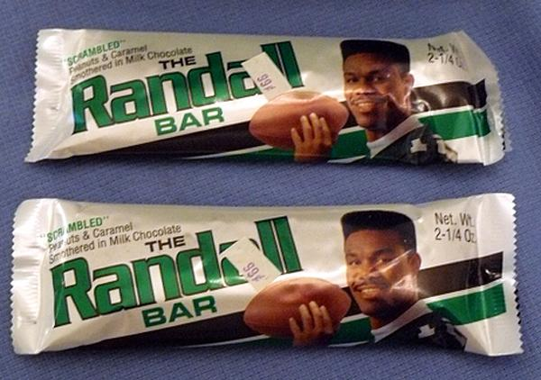 randall bar (randall cunningham) - athletes with their own foods