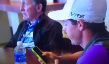 Rory McIlroy's iPhone Passcode Revealed to the World During PGA Championship Rain Delay (Video)