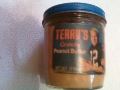 terry's crunchy peanut butter (terry bradshaw) - athletes with their own foods