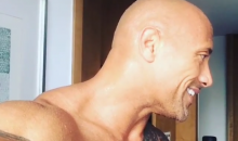 It Seems The Rock Is in a Romantic Relationship with the Elliptical Machine at His Mexico City Hotel (Video + Pic)
