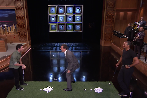 tiger woods rory mcilroy on tonight show with jimmy fallon