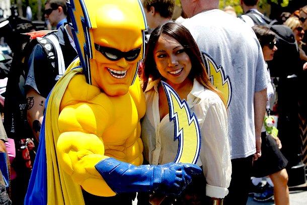 1 Boltman San Diego Chargers mascot - creepy NFL mascots