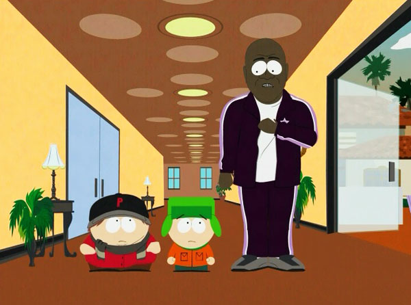 12 magic johnson  - sports figures parodied on south park