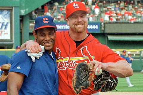 13 Mark McGwire and Sammy Sosa mlb steroid era - since the royals last made the playoffs