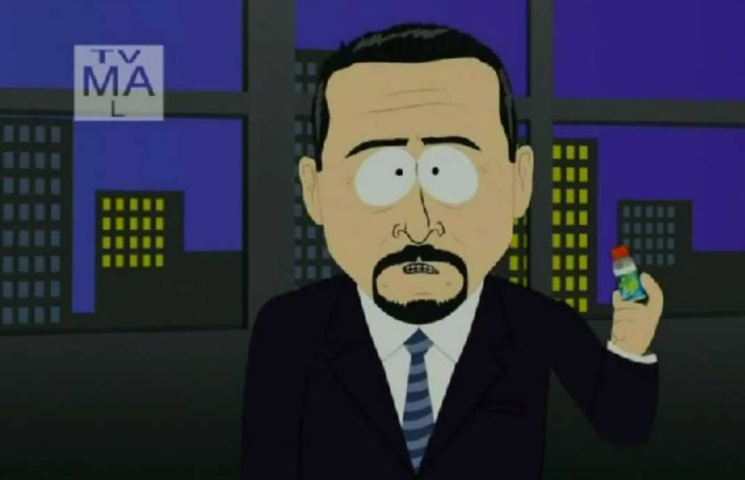 15 jim rome sarcastaball  - sports figures parodied on south park